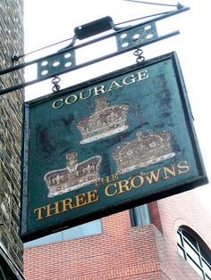 The Three Crowns Pub Sign N1 | Flickr