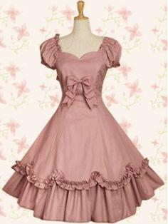 Lolita Pink Dress