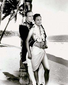 Marlon & Tarita Brando