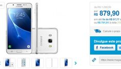 "Samsung Galaxy J5 Metal 16GB Dual Chip 4G Câm 13MP  Selfie 5MP Tela 52"" - 2 Cores Disponívels << R$ 79191 >>"