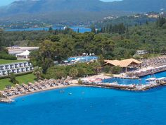 10 Best Beach Resorts in Greece Corfu Hotels, Greece Resorts, Top 10 Hotels, Best Hotels, Seaside Resort, Resort Spa, Greece Tourist Attractions, Corfu Town, Greece Travel