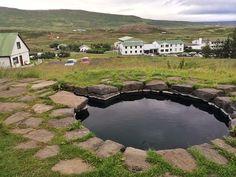 Guðrúnarlaug hot pool, West Iceland