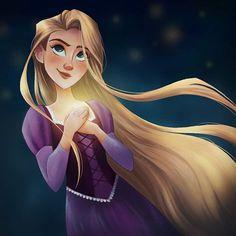 Rapunzel Story, Walt Disney Pixar, Disney Princess Rapunzel, Tangled Rapunzel, Arte Disney, Disney Tangled, Disney Fan Art, Disney And Dreamworks, Disney Love