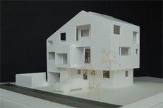 北海道、札幌市の設計事務所の山内圭吉建築研究所が作成した建築模型   北海道 札幌の一級建築士事務所 - 山内圭吉建築研究所 -