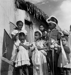 Museu Afrodigital da UFMA - Maranhão (1948) - Festa do Divino na periferia de São Luís