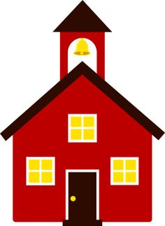 School Window Clipart pictures of school house | 4th grade boards & decorations