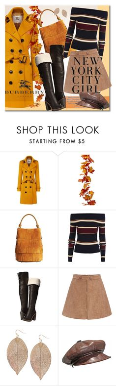 """Stay Warm In Style"" by petri5 ❤ liked on Polyvore featuring Burberry, Kate Spade, H&M, Humble Chic, Christian Dior and Public Library"