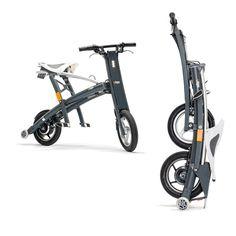 The world's fastest-folding electric scooter. www.stigobike.com