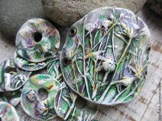 Бусины с растительным орнаментом своими руками - Ярмарка Мастеров - ручная работа, handmade