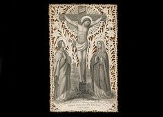 Antique  Holy Card-Paper Lace-Amazingly Beautiful by Mercurysmoon on Etsy.com