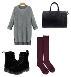 """""""autumn day"""" by megsgalley on Polyvore featuring Forever 21, Dr. Martens, Louis Vuitton, women's clothing, women's fashion, women, female, woman, misses and juniors"""