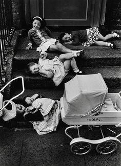 Children laughing 1938