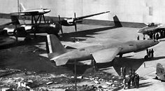 SNCASO SO-4000 with SNCASO M1 on top of He-274 SNCASO M1 A scale unpowered glider for research into the flying characteristics of the full size S.O.4000 experimental aircraft. Launched from a support frame above the fuselage of the sole Heinkel He 274, which had been abandoned in France and restored to airworthiness to support research programmmes, and/or a similarly equipped SE-161 Languedoc. SNCASO SO.4000 was an experimental French twin-engine jet-bomber aircraft of the 1950s. Only a…