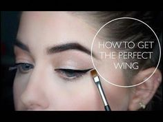 """Outstanding """"eyeliner tips"""" info is offered on our site. Have a look and you will not be sorry you did. #EyelinerPencil Perfect Winged Eyeliner, Winged Eyeliner Tutorial, Simple Eyeliner, Winged Liner, Make Up Tools, Eyeshadow For Green Eyes, How To Apply Eyeshadow, Eyeliner Styles, No Eyeliner Makeup"""