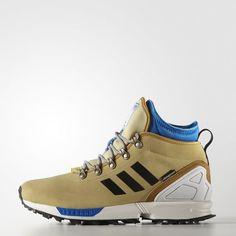 01692e5e1e23 ZX Flux Winter Shoes - Beige Designer Trainers