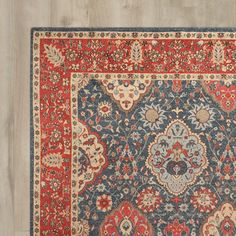 You'll love the Alto Navy/Red Area Rug at Wayfair - Great Deals on all Rugs  products with Free Shipping on most stuff, even the big stuff.