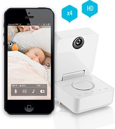 Withings baby monitor with iPhone