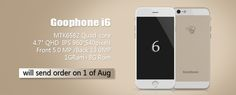 Wico and Goophone Beat Apple to Market with Android-Based iPhone 6 Clones - http://www.aivanet.com/2014/07/wico-and-goophone-beat-apple-to-market-with-android-based-iphone-6-clones/