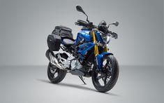 Download wallpapers 4k, BMW G 310 R, superbikes, 2018 bikes, BMW G, german motorcycles, BMW