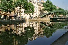 Canal Saint-Martin - Porte Saint-Martin - Quai de Valmy