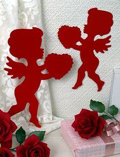 Valentine Decorations on Cupids Valentine Cut Outs  Valentine Cupid Decorations On Blumchen Com