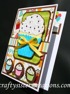 Design Team Friday August 2014 with My Cricut Craft Room and Design Team Introduction- Laurie Cricut Birthday Cards, Kids Birthday Cards, Cricut Cards, Card Birthday, Scrapbook Cards, Scrapbooking, Cricut Craft Room, Card Maker, Card Tags