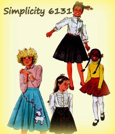 Vintage 1980s Sewing Pattern Simplicity by mmmsvintagepatterns