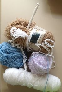 Several ideas from fellow knitters/crocheters for keeping yarn clean and tangle free