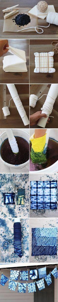 Shibori Dyed Clothes