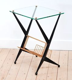 Angelo Ostuni, table d'appoint, vintage, lucinevintage