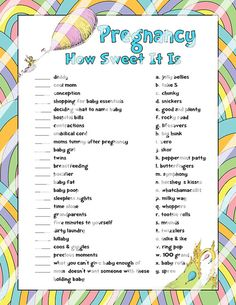 Oh The Places You'll Go Baby Shower Game  Pregnancy How