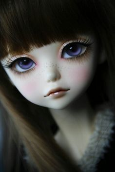 Resultado de imagen para muñecas caricaturas de ojos grandes