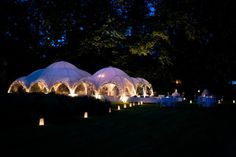 Fun post-wedding party marquee... Image © BarkerEvans.com for Sarah Haywood Wedding Design