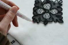 How to Add Lace Applique