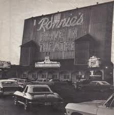 Ronnie's Drive-In Theatre, vintage photo but still a great place to catch a flick at Ronnie's movie theater. That is STL for ya!