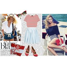 Anchors, Stripes, Polka-dots and Nautical Style