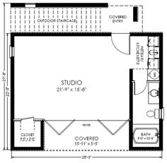 forest house floor plan (guest house) | Future home ideas ...