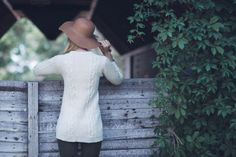 Linda Marveng, Inverness Sweater, knit sweater pattern from Interweave Knits Winter 2016