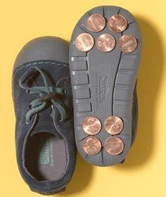 Juego para fiestas infantiles: bailar con zapatos de claqué