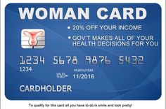 If women have the woman card, and minorities have the race card, what do racist white men get? The Trump card. http://www.huffingtonpost.com/entry/hillary-clinton-woman-card-responses-donald-trump_us_57207f22e4b0f309baef3bf4