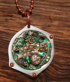 Steam Punk Necklace by WenJammerCreations on Etsy