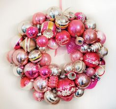 These look like vintage Shiny Brite ornaments!