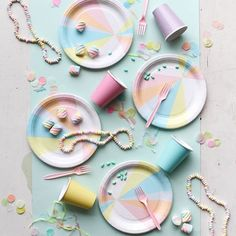 Some Pastel Party Inspiration via @ohhappyday