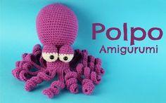 """Ciao a tutti!! In questo nuovo video andremo a vedere come fare questo bellissimo Polpo in Amigurumi! :D Vi invito a mettere """"mi piace"""" al video se vi piace,..."""
