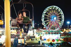 fair engagement photos would be cute since our first trip ever when we were dating was Santa Cruz boardwalk
