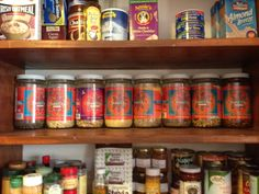 A long-time Bhakti fan uses our old mason jars in his spice cabinet.  LOVE it!