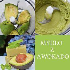 mydło z awokado Homemade Cosmetics, Natural Cosmetics, Diy Beauty, Health And Beauty, Detox, Diy And Crafts, Food Porn, Food And Drink, Soap