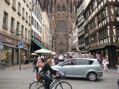Daily life in beautiful Strasbourg. Photo by SU staff member Daeya Malboeuf. University Programs, Syracuse University, Language Study, Strasbourg, Study Abroad, Beijing, View Photos, The Locals, Madrid