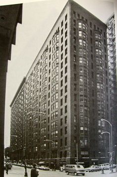 Commonadnock Flooring : Moadnock building (1889-91), chicago, Burnham e Root