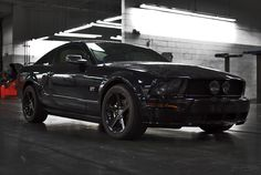 Ford Mustang ..... In black mood